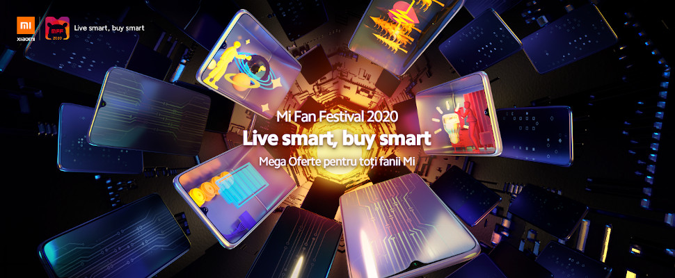 "Mi Fan Festival (MFF 2020) ""Live smart, buy smart"""