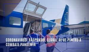 Coronavirus: Răspunsul global al UE pentru a combate pandemia
