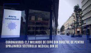 sprijinirea sectorului medical din UE