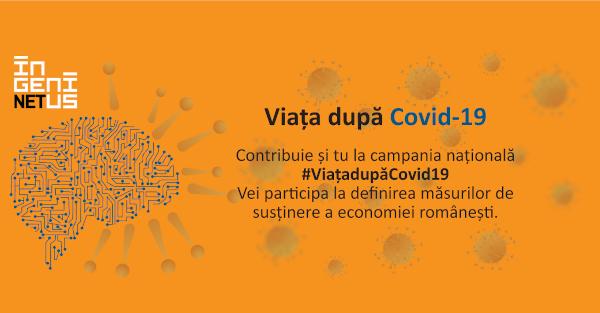 Ingenius Hub lansează cercetarea națională cu privire la impactul COVID-19 asupra economiei românești