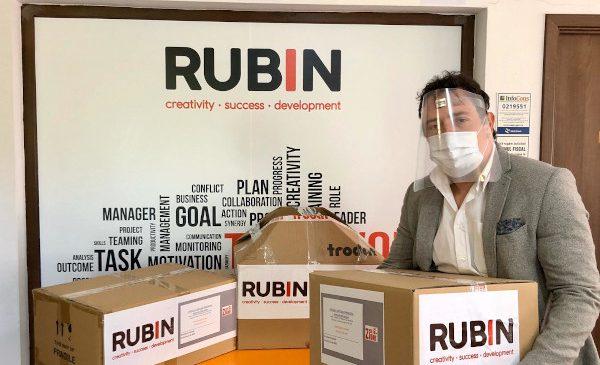 Rubin 2000 se alătură campaniei #scutpentruspitale și începe producția a 50.000 viziere pe care le va dona
