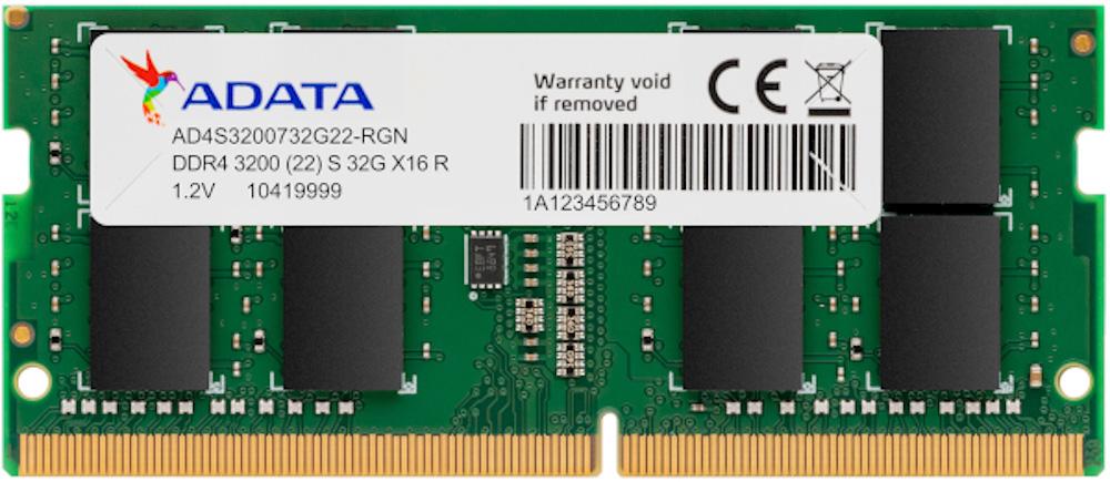 Adata DDR4 3200 SO DIMM 32GB