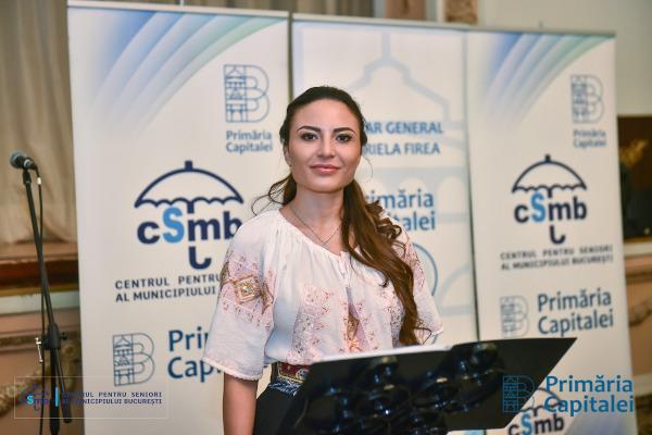 Alexandra Dobre, Director General al Centrului pentru Seniori al Municipiului Bucuresti