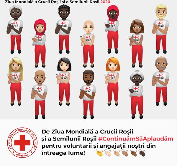 Continuam sa aplaudam_Ziua Mondiala Crucea Rosie Semiluna Rosie