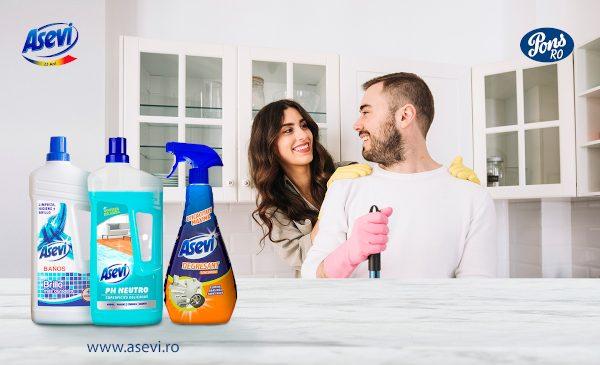Curățenia casei mai simplă în 4 pași