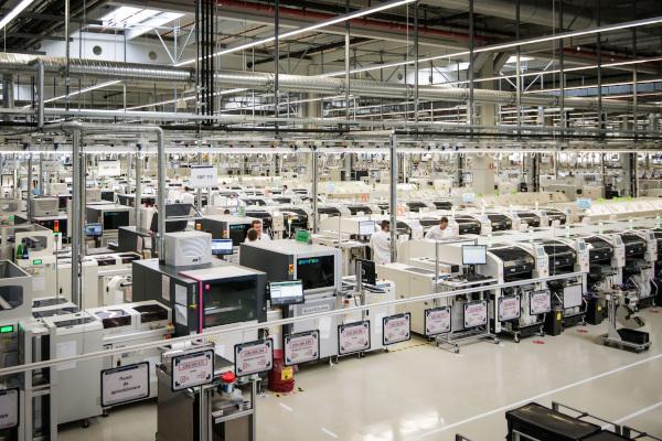 Fabrica Bosch Jucu interior