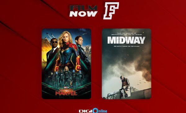 """Noi premiere în luna mai la Film Now – """"Captain Marvel"""" și """"Midway"""""""