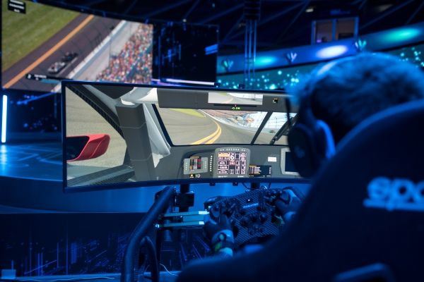 Munich (GER), 5th December 2019. BMW SIM LIVE, Sim-Racing, Simulator, Gaming, BMW Welt