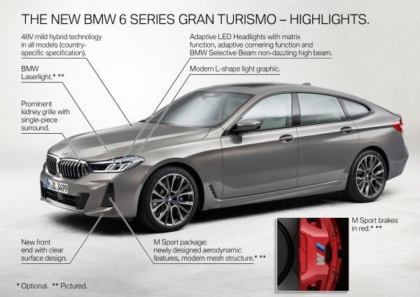 The new BMW 6 Series Gran Turismo - Highlights 1