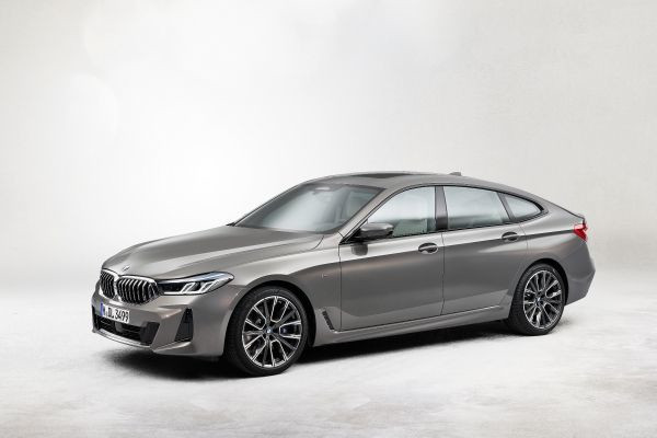 The new BMW 640i xDrive Gran Turismo, Bernina Grey Amber effect, M Sport package