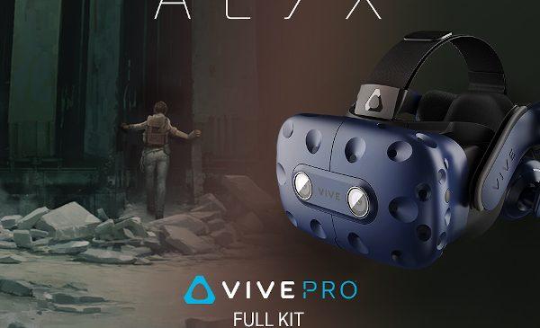 HTC Vive Pro Full Kit poate fi achiziționat acum împreună cu Half-Life: Alyx