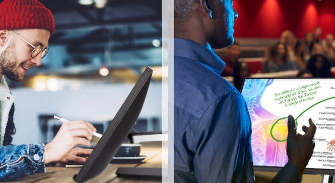 ViewSonic a lansat un nou ecran tactil in 10 puncte cu tehnologie PCAP pentru lucru in echipa si sali de clasa
