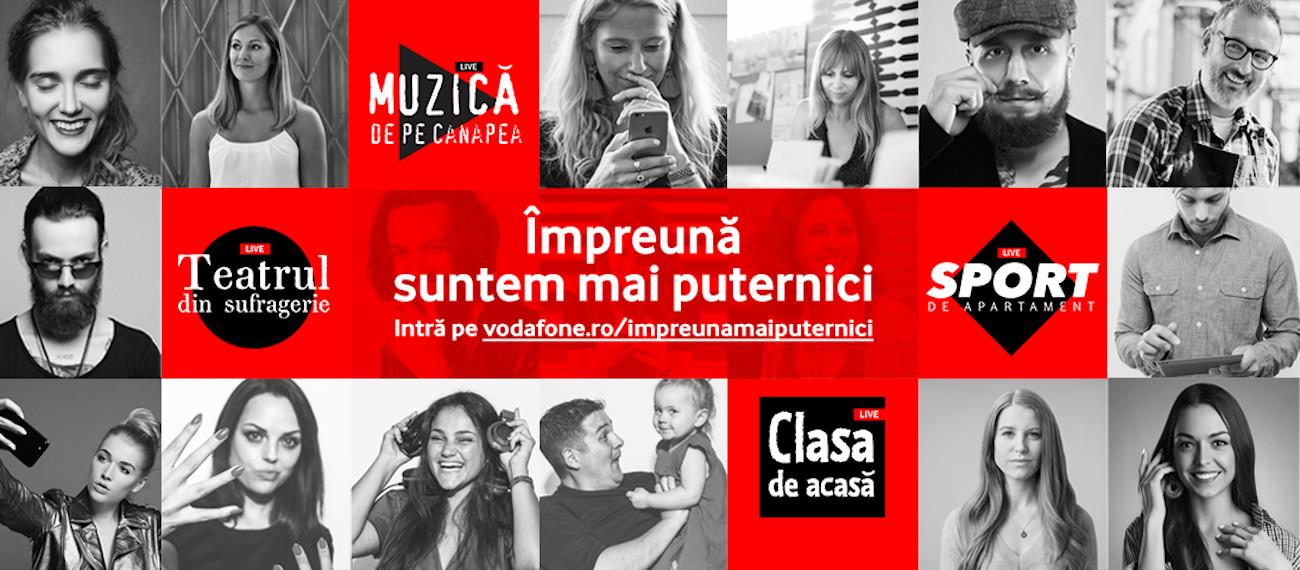 Vodafone 1 mai #împreuna