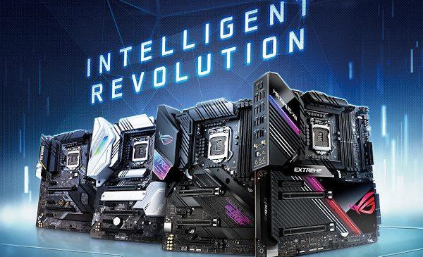 ASUS anunță seria de plăci de bază Z490