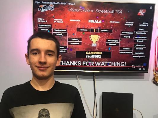 Primul turneu de baschet 3x3 online