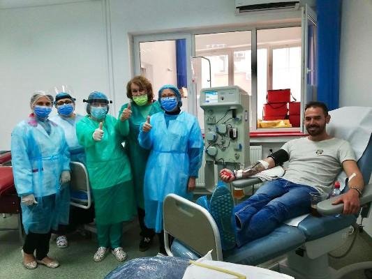 BPHD donatie aparate pentru plasmafereză