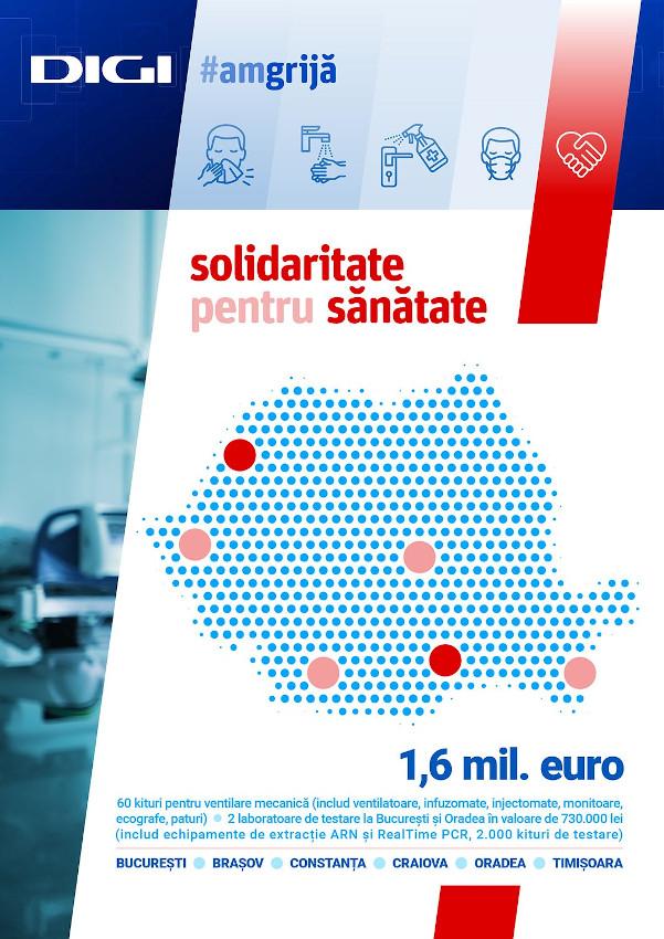 #amgrijă - DIGI Solidaritate pentru sanatate
