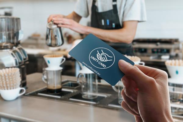 Unity Card coffee shop