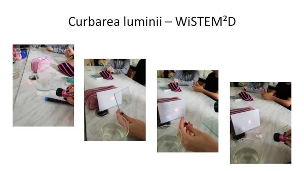 Proiectul educațional WiSTEM²D – din clasa reală în clasa virtuală