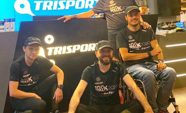 Memo, Daniel Osmanovici, Andrei Gligor și George Baltă vor parcurge, pentru a treia oara, 100 de km în mers pentru copiii din Asociația Autism Voice