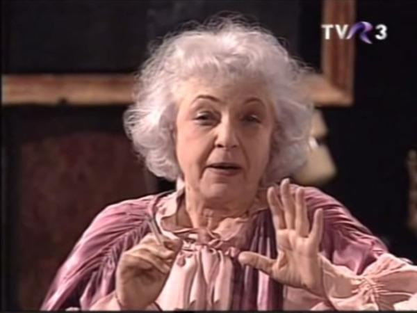 Bătrâna şi hoţul pe TVR 3