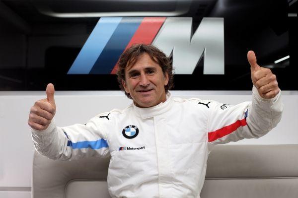 BMW M Motorsport. BMW works driver, BMW brand ambassador Alessandro Zanardi (ITA)