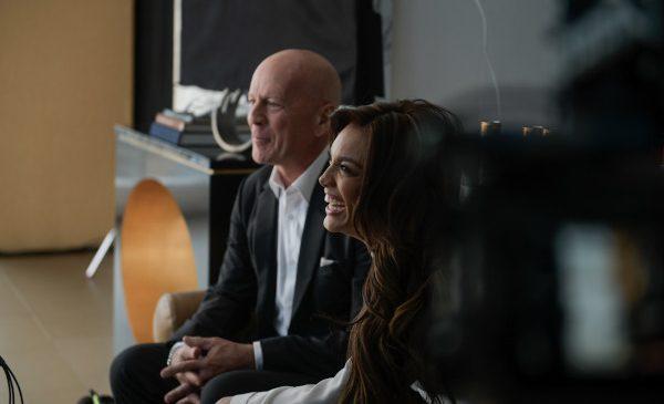 Din culise: filmarea unui TVC cu Bruce Willis