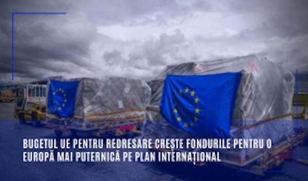 Bugetul UE pentru redresare