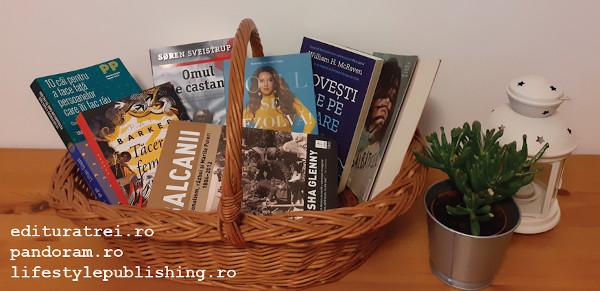 De-acum cumperi mai ușor: poți pune cărți de la trei edituri într-un singur coș