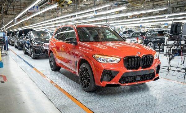 Cinci milioane de automobile BMW produse în SUA