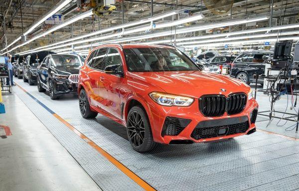Cinci milioane de automobile BMW produse in SUA