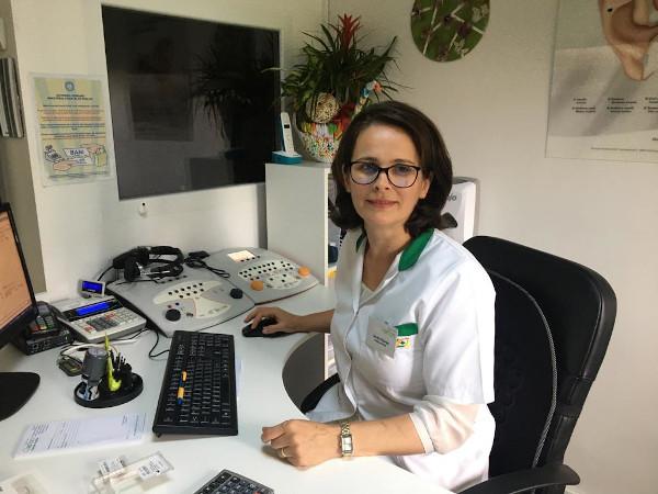 Claudia Piturlea, Audioprotezist, Clarfon