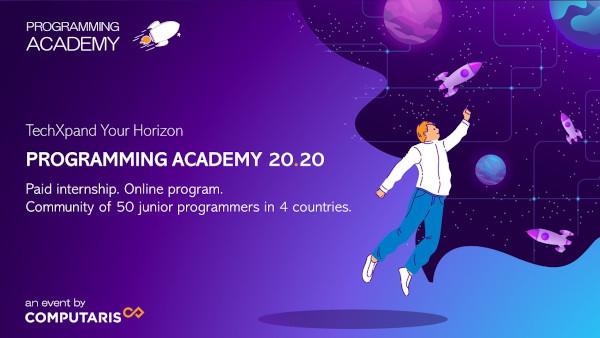 """Computaris anunţă deschiderea înscrierilor în """"Academia de programare"""" pentru 50 de studenţi şi programatori juniori"""