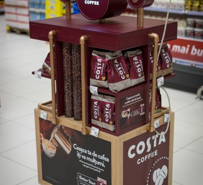 Coca-Cola HBC aduce gustul excelent al cafelei Costa Coffee în România