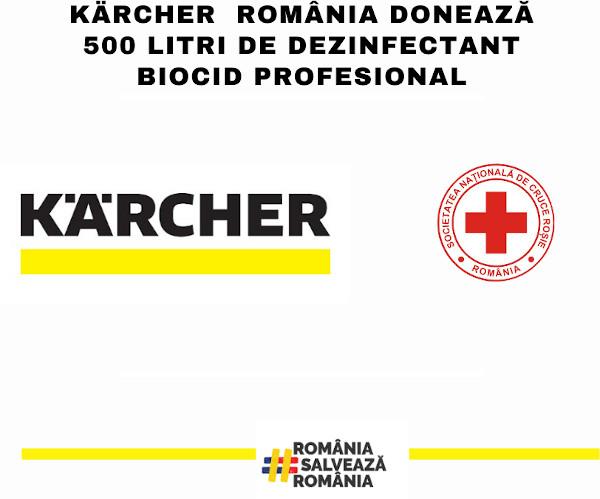 Crucea Rosie_donatie Karcher