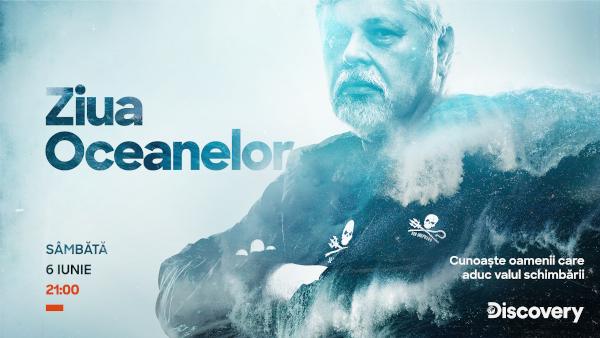 Discovery celebrează Ziua Mondială a Oceanelor cu trei documentare speciale noi