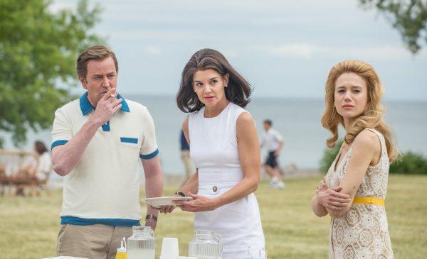 """Katie Holmes ca Jacqueline Kennedy, în miniseria """"Familia Kennedy: după Camelot"""", difuzată de FilmCafé"""