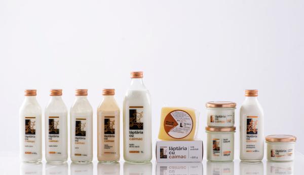 Gama de produse Laptaria cu Caimac
