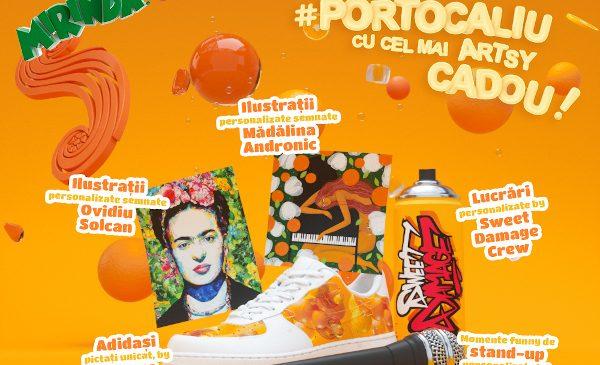 Mirinda România și Golin adaugă #portocaliu în lumea consumatorilor, cu surprize personalizate pentru cei dragi