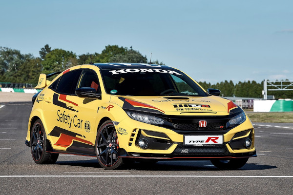 Honda Civic Type R Limited Edition is the 2020 WTCR Official Safety Car 1