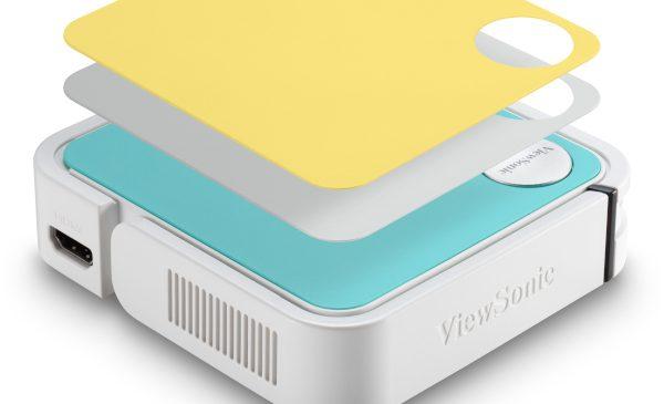 """ViewSonic a anunțat disponibilitatea video-proiectorului """"de buzunar"""" prevăzut cu iluminare LED și soluție audio JBL – M1 mini Plus"""