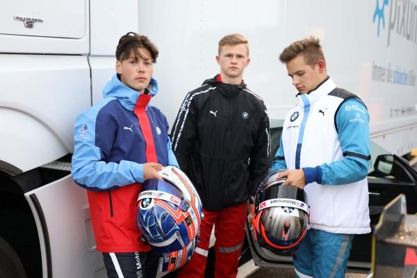 Nürburgring (GER), 14th June 2020. BMW Junior Team, Max Hesse (GER), Dan Harper (GBR), Neil Verhagen (USA)