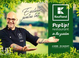 Kaufland relansează conceptul de Pop-up Restaurant în aer liber, cu un program de experiențe tematice