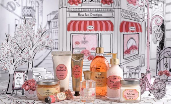 Sabon îți deschide porțile către Rose Tea Boutique