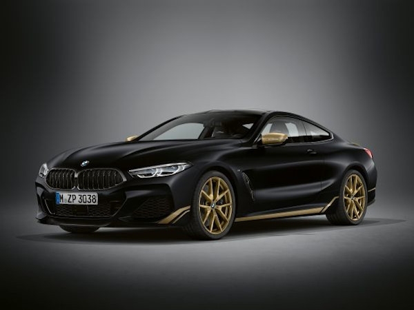 The new BMW 8 Series Edition Golden Thunder