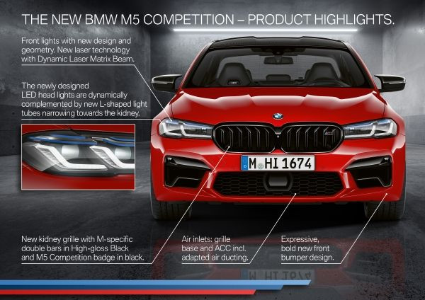 The new BMW M5 Competition - Highlights 1