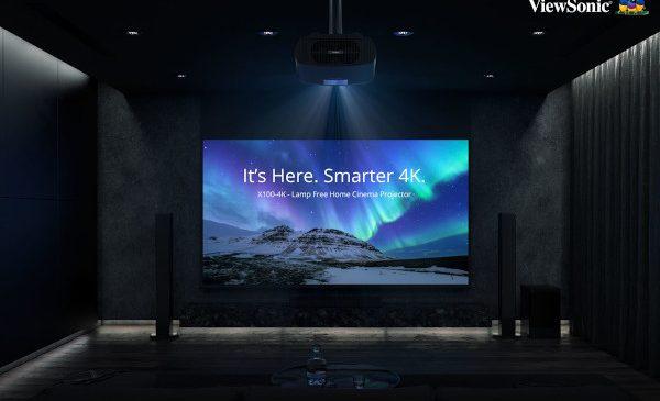 ViewSonic propune proiectorul ViewSonic Smart LED X100-4K
