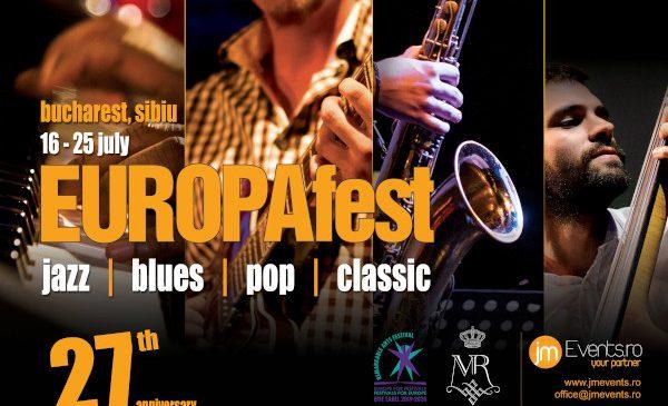 Festivalul EUROPAfest 2020 se organizează în iulie