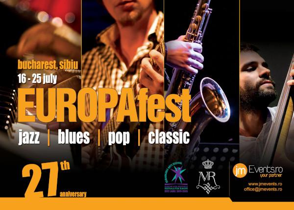 afis EUROPAfest iulie 2020