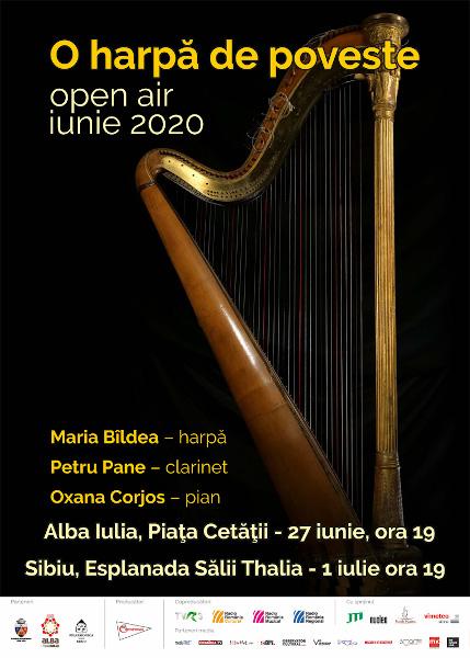 afis O harpa de poveste
